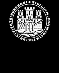 Logo Bergen Kommune Logo sort
